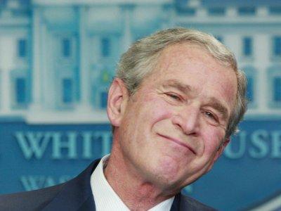 Bush bye bye