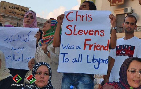 Chris Stevens was a friend